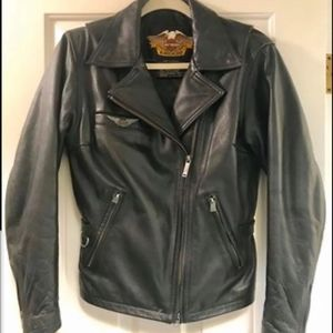 Authentic Real Leather Harley Davidson HD Womans